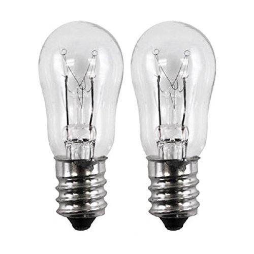 - OCSParts ELE208 x 2 WE4M305 General Electric Dryer Light Bulb, 120V, 10W (Pack of 2)