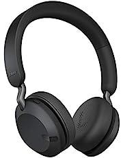 Jabra Elite 45h Draadloze Koptelefoon – Compacte en Vouwbare Bluetooth Koptelefoon, Gaat 50 Uur Mee – Beltechnologie met 2 Microfoons – Titaniumzwart
