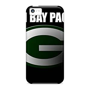 Hot Fashion KbU467bLWs Design Case Cover For Iphone 5c Protective Case (green Bay Packers)