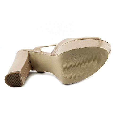 Steve Madden Jukbox Pelle sintetica Sandalo con la Zeppa