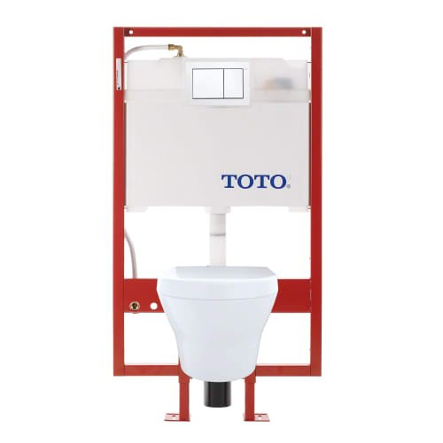 TOTO CWT437117MFG-3#01 MH Wall-Hung Toilet & DuoFit In-Wa...