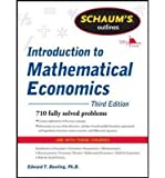 img - for Dowling, Edward ( Author )(Schaum's Outline of Introduction to Mathematical Economics, 3rd Edition) Paperback book / textbook / text book
