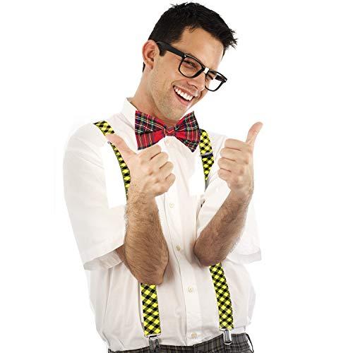 Tigerdoe Nerd Costume - 3 Piece Set - Geek Costume - Nerd Day Costume - School Costume - Nerd Costume Accessories]()