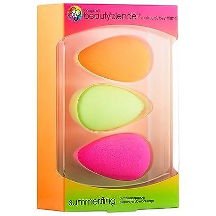 beautyblender Summer Fling: Makeup Sponge Set for Foundations, Powders & Creams