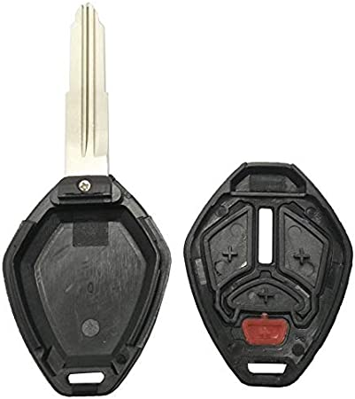 Horande Replacement Key Fob Case Shell Fit For Mitsubishi Galant Lancer Endeavor Eclipse Remote Control Key Fob Cover