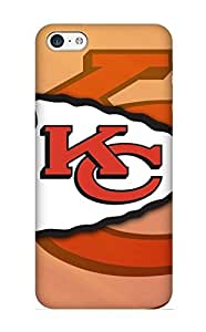 Design High Impact Dirt/shock Proof Case Cover For Iphone 5c (kansas City Chiefs)