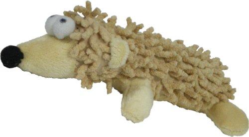 Amazing 7-Inch Plush Shaggy Hedgehog Dog Toy -