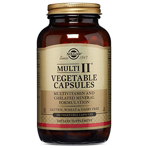 Solgar Multi II, 180 Vegetable Capsules