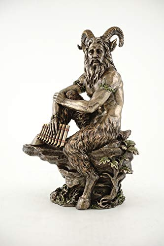 Top Collection Pan Statue in Cold Cast Bronze - 12