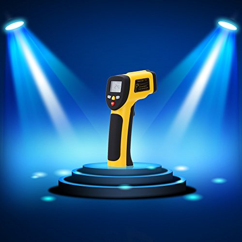 Double Laser termometro High Precision Digital Infravermelho Infrared Thermometer Non-contact IR Temperature Tester Pyrometer