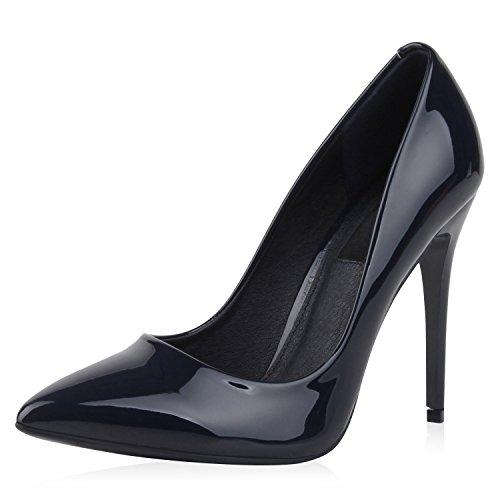 napoli-fashion - Cerrado Mujer azul oscuro