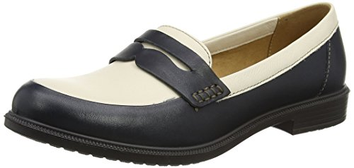 Hotter Zapatos navy Dorset Multicolor cream Mujer wwr8xqfF5