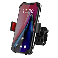 HIGH QUALITY AND SAFEBike Phone Mount has been road and trail tested in all conditions toassure quality and safety. The safety of our customers is paramount, and we take great pride in selling only quality and durable products that will stand...