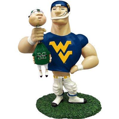 Kole West Virginia University Rivalry Figurine - Ncaa Rivalry Figurine