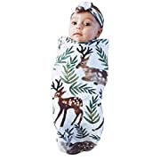 Newborn Baby Blanket Swaddle Sleeping Bag Sleepsack Stroller Wrap ,Bring home Swaddle