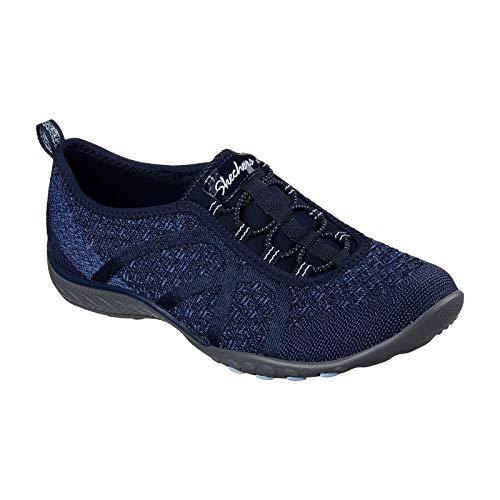 Breathe Sneaker fortune Easy Donna Knit Naturale Skechers Txqfw6ndfa