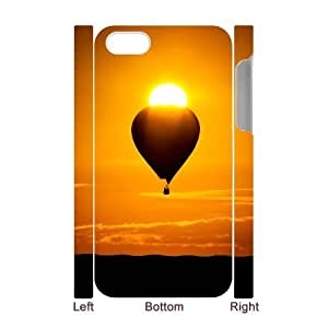 Iphone 4,4S Fire Balloon 3D Art Print Design Phone Back Case Use Your Own Photo Hard Shell Protection FG079488