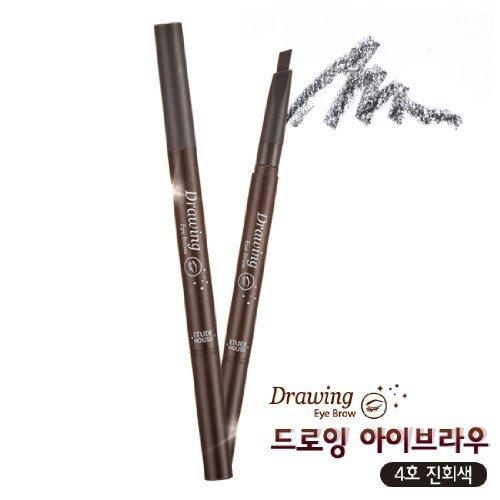 ETUDE HOUSE Drawing Eye Brow 0.25g (#4 Dark Grey)