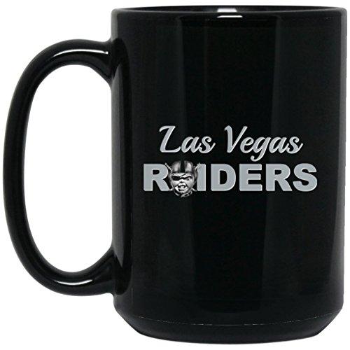 Las Vegas Raiders Coffee Mug Chucky Raiders Mug 15 oz Black Ceramic Cup Great for Tea and Hot Chocolate NFL AFC National Football League Perfect Gift for any Raider Fan
