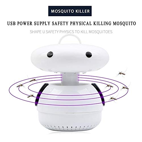 Price comparison product image CapsA AU Electric Mosquito Lamp Mosquito Trap Electric Bug Zapper No Radiation Photocatalyst Fly Bug Killer
