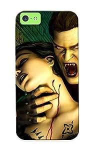 Crazinesswith New Arrival QYsFlZi5877yOEjr Premium Iphone 5c Case(vampire The Masquerade ?C Bloodlines)