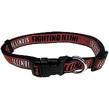COLLEGE ILLINOIS FIGHTING ILLINI Dog Collar, Medium