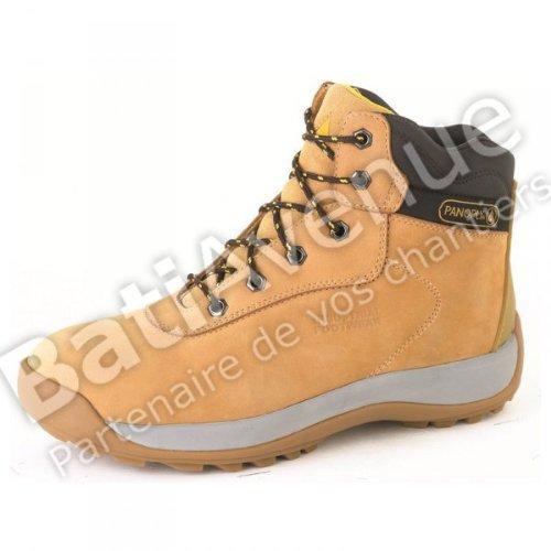 S1 Delta Stiefel Plus 1Paar polig beige Leder Größe Saga 43 Schuhe–SET ySSXTq6g