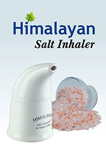 Himalayan Pink Salt Inhaler & 180g Pink Salt - All-Natural Respiratory Aid from Select Health & Wellness