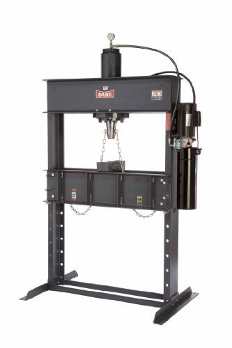 Dake Force 50DA Model Electrically Operated Hydraulic Dura Press, 50 Ton Capacity, 110V, 1 Phase, 55'' Length x 36'' Width x 88'' Height by Dake