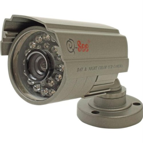 (QSDS14273W Security Camera - Color - CCD - Cable)