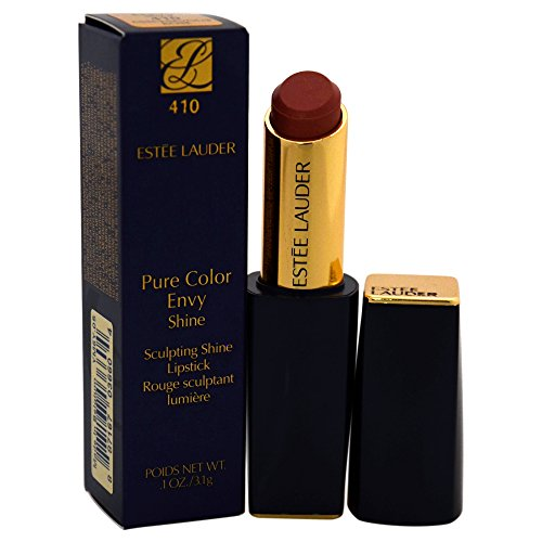 Estee Lauder Women's Pure Color Envy Shine Sculpting Lipstick, 410 Mischievous Rose, 0.1 Ounce ()