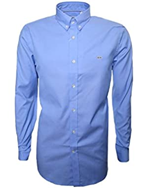Lacoste Men's Light Blue Men's Shirt Light Blue