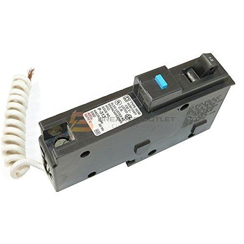 New Schneider Electric Square D HOM115AFI Homeline Arc Fault Miniature Circuit Breaker 15A 120V AC 1 Pole Plug-On (1 Pole Plug)