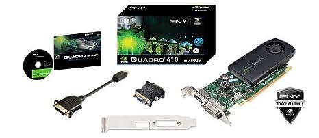 HP Nvidia Quadro 410 DDR3 512MB Display Port DVI Graphics Card VCQ410-T