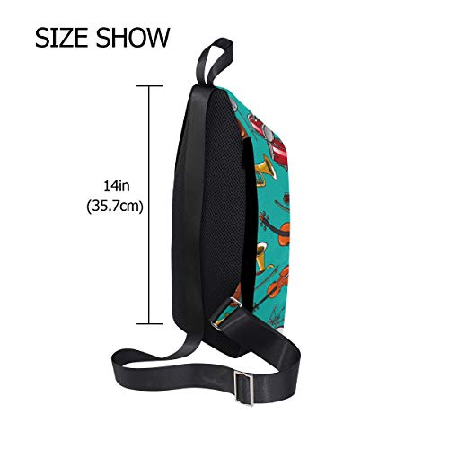 Bags For Chest Crossbody Sling Backpack amp; Music Bennigiry Bag One Classic Acoustic Women Shoulder Guitars Men 1Ywqx7X4