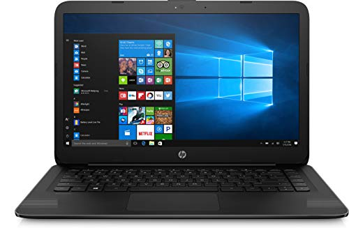 HP 14-ax040wm Laptop, Intel Celeron N3060, 1.6 GHz, 32 GB, Windows 10 Home 64 Bit, Black, 14