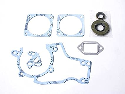 5 Sets Cylinder Muffler Crankcase Gasket For Stihl 038 MS380 MS381 Chainsaw New
