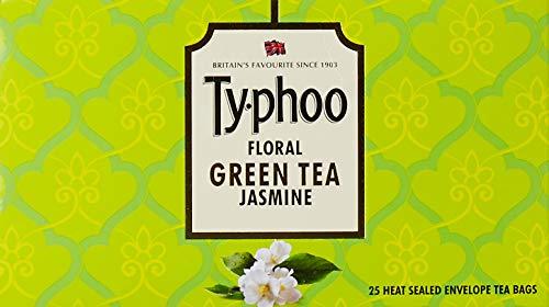 - Typhoo Green Jasmine Tea, 25 Tea Bags