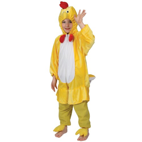 cf562d08d XL) Boys Girls Kids Yellow Chick Costume for Animals Bugs Creatures ...