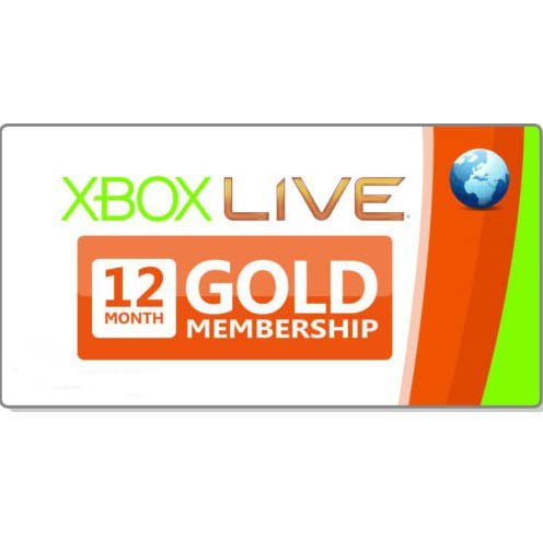 Xbox Subscription Gold Card - 8