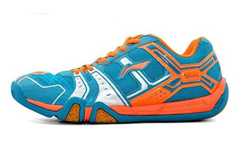 LI-NING Saga Lightweight Men Badminton Shoes Breathable Professional Sport Shoes for Male Sneakers AYTM085