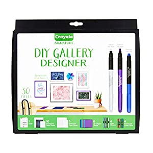 Crayola DIY Gallery Wall Art Set & Origami Kit, Craft Kit, Over 30Piece, Gift