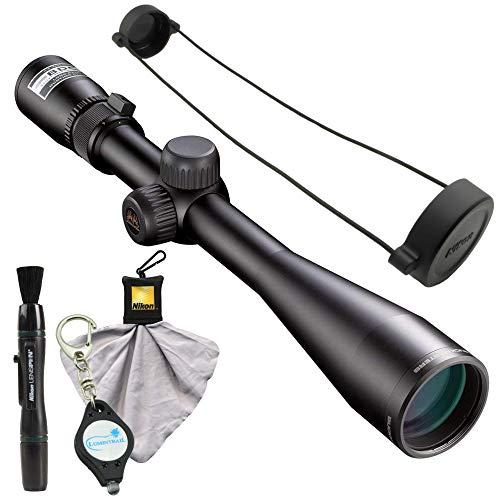 Nikon Buckmasters II Scope 4-12x40mm BDC Bundle Lens Pen, Cleaning Cloth and Lumintrail Keychain Light