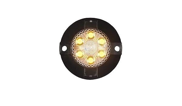 Custer Products Surface mount White hideaway led warning light LED MINI-X EXTREME