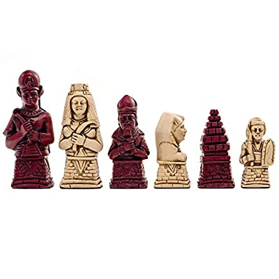Berkeley Chess Egyptian Cardinal Chess Men