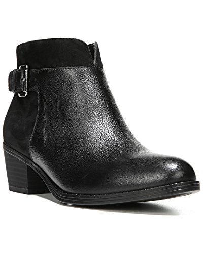 Precio más bajo venta en línea Botas De Las Mujeres Naturalizer Wanya Negro De Cuero / Gamuza Cuenta atrás para la venta hYu96w
