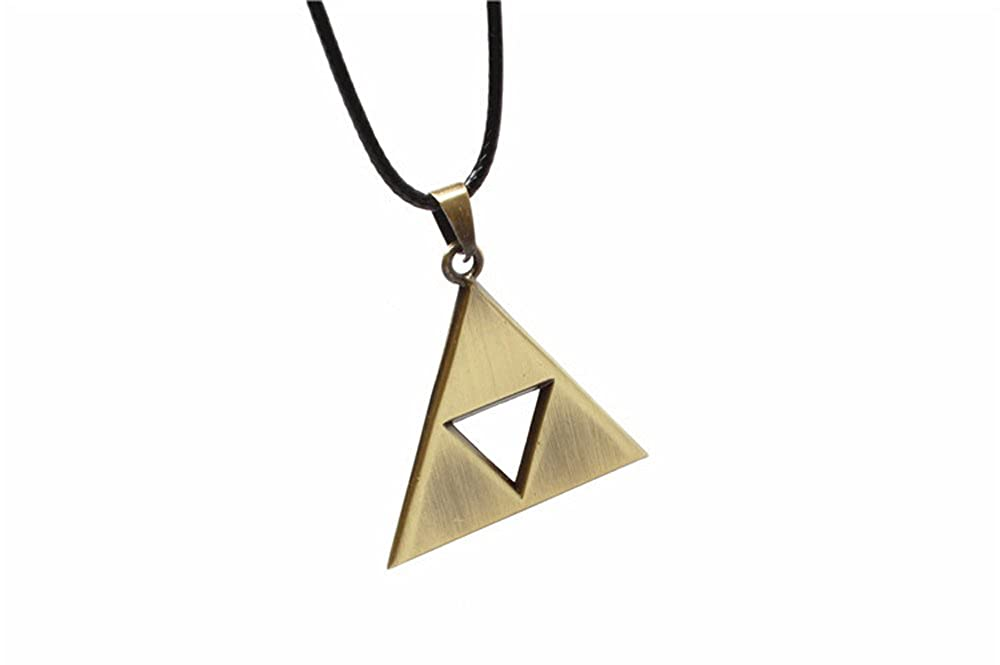 Amazon Pearl Legend Of Zelda Triforce Symbol Bronze Necklace