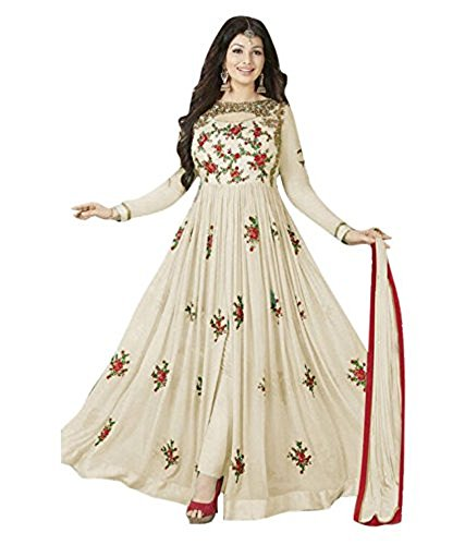 Ready-made-Designer-Patiyala-Suit-Bollywood-Dress-Indian-S-38-Off-White