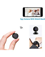 Spy Camera Hidden Wifi,AOBO Smallest Mini Security Surveillance Camera 1080P Full HD Wireless Micro Tiny Spy Cam With App For Home Indoor Outdoor Portable Nanny Cam Night Vision Motion Detection