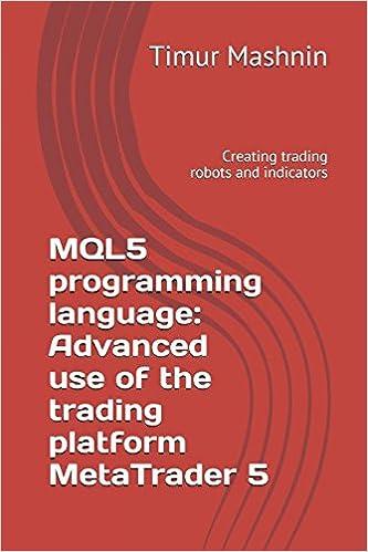 MQL5 programming language: Advanced use of the trading platform